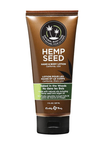 Earthly Body Naked in the Woods Hemp Seed Velvet Lotion