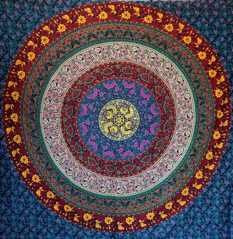 Prithvi Mandala Wall Throw