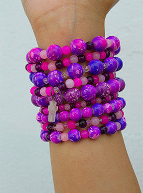 Purple Dream Bracelet Stack