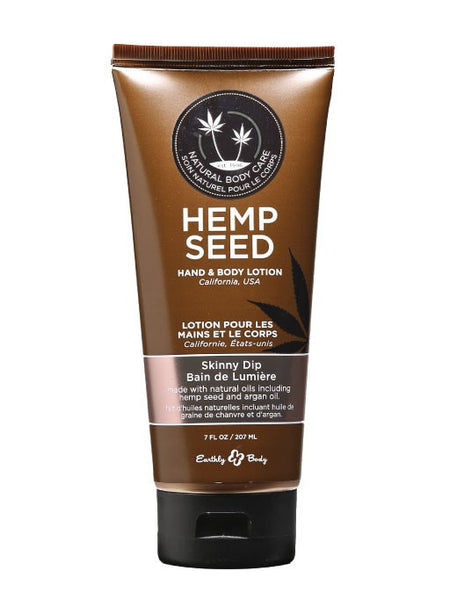 Earthly Body Skinny Dip Hemp Seed Velvet Lotion