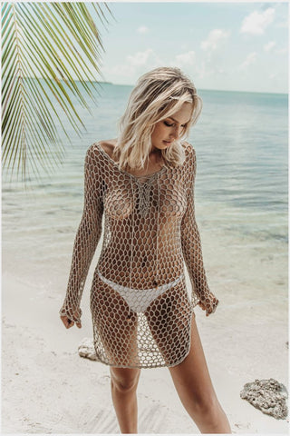 Tahiti Crochet Dress
