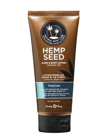 Earthly Body Tropicale Hemp Seed Velvet Lotion