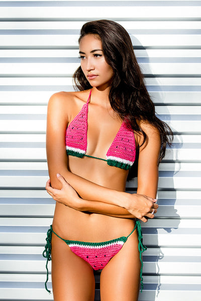 Watermelon Dreams Crochet Bikini