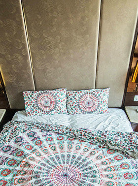 Yamuna Mandala Bedding Decor Set