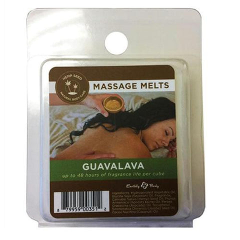 Earthly Body Massage Melts Refill - Guavalava