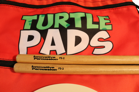 Turtle Pad Kit w/ IP-FS2 Drumsticks