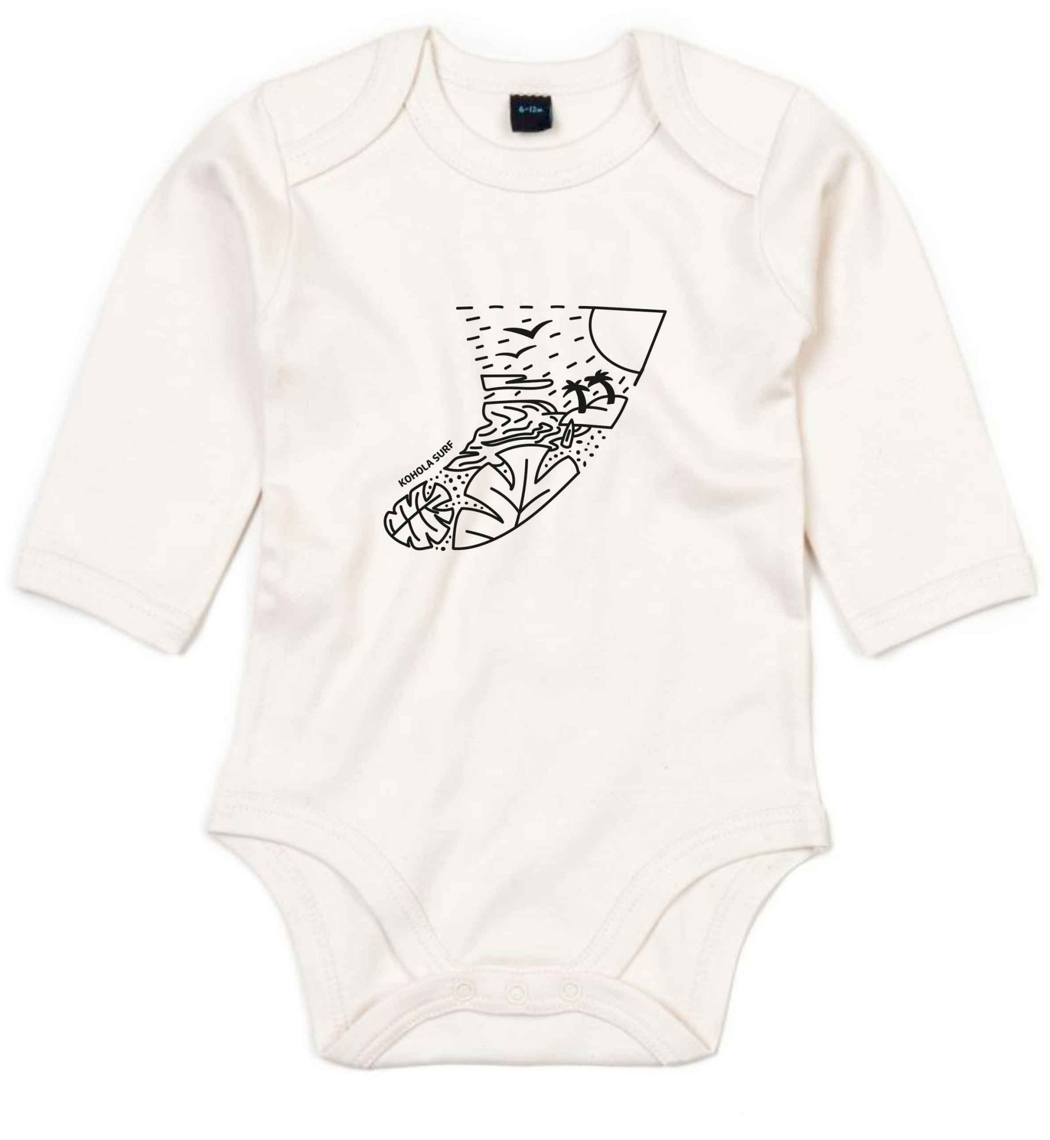Kohola Fin Baby Long-Sleeved Body