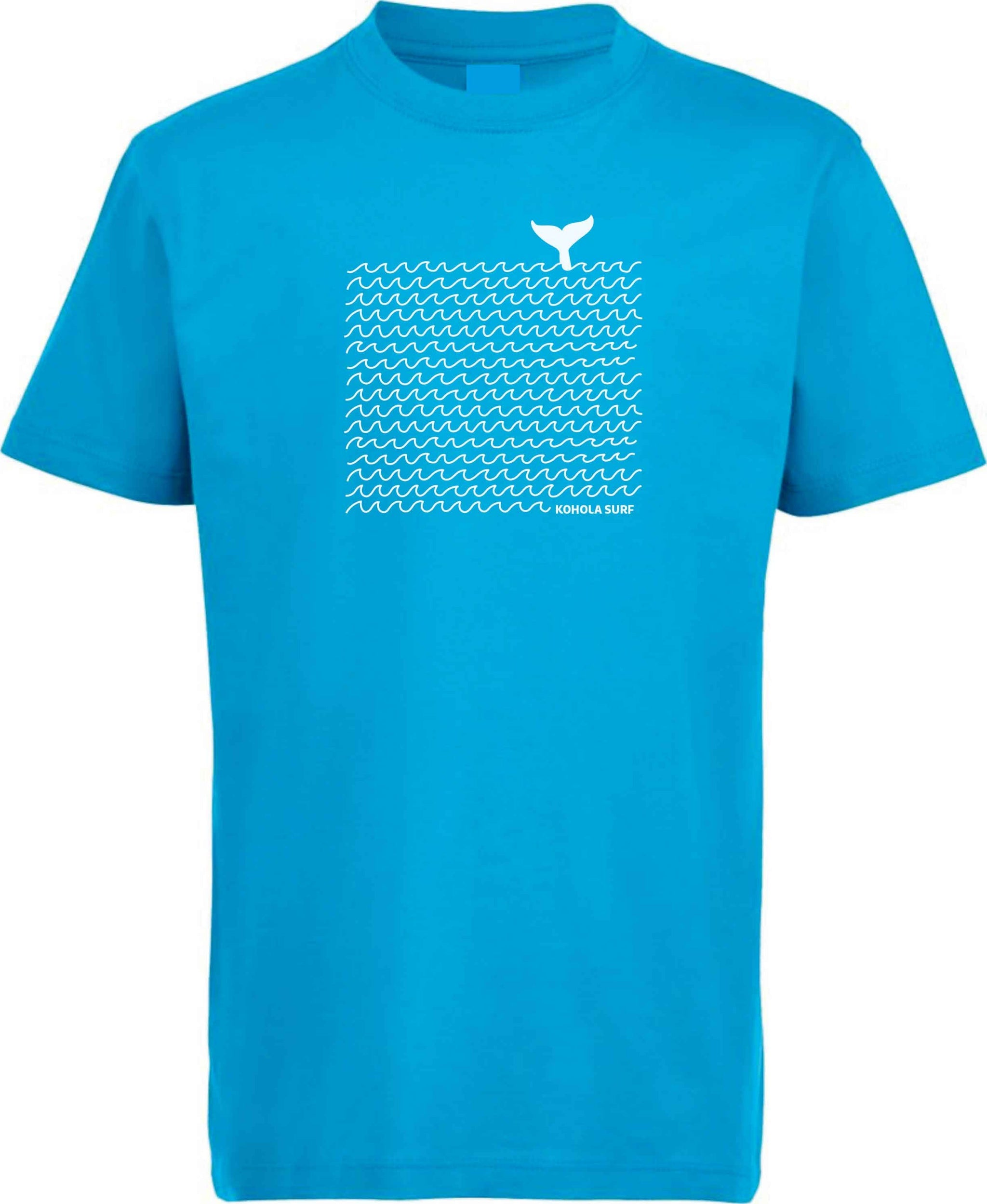 Whale & Waves Kids Tee