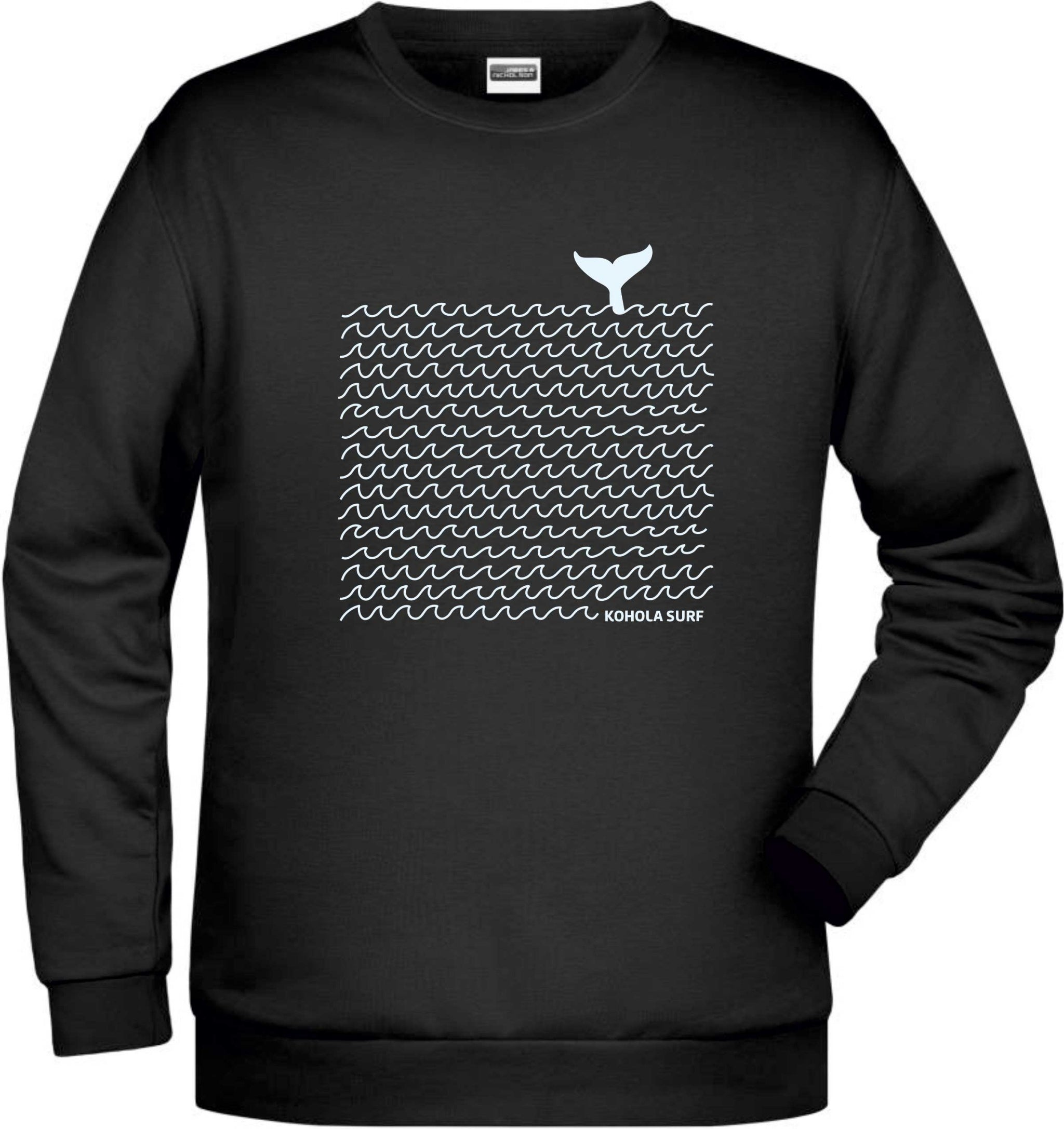 Whale & Waves Unisex Sweatshirt
