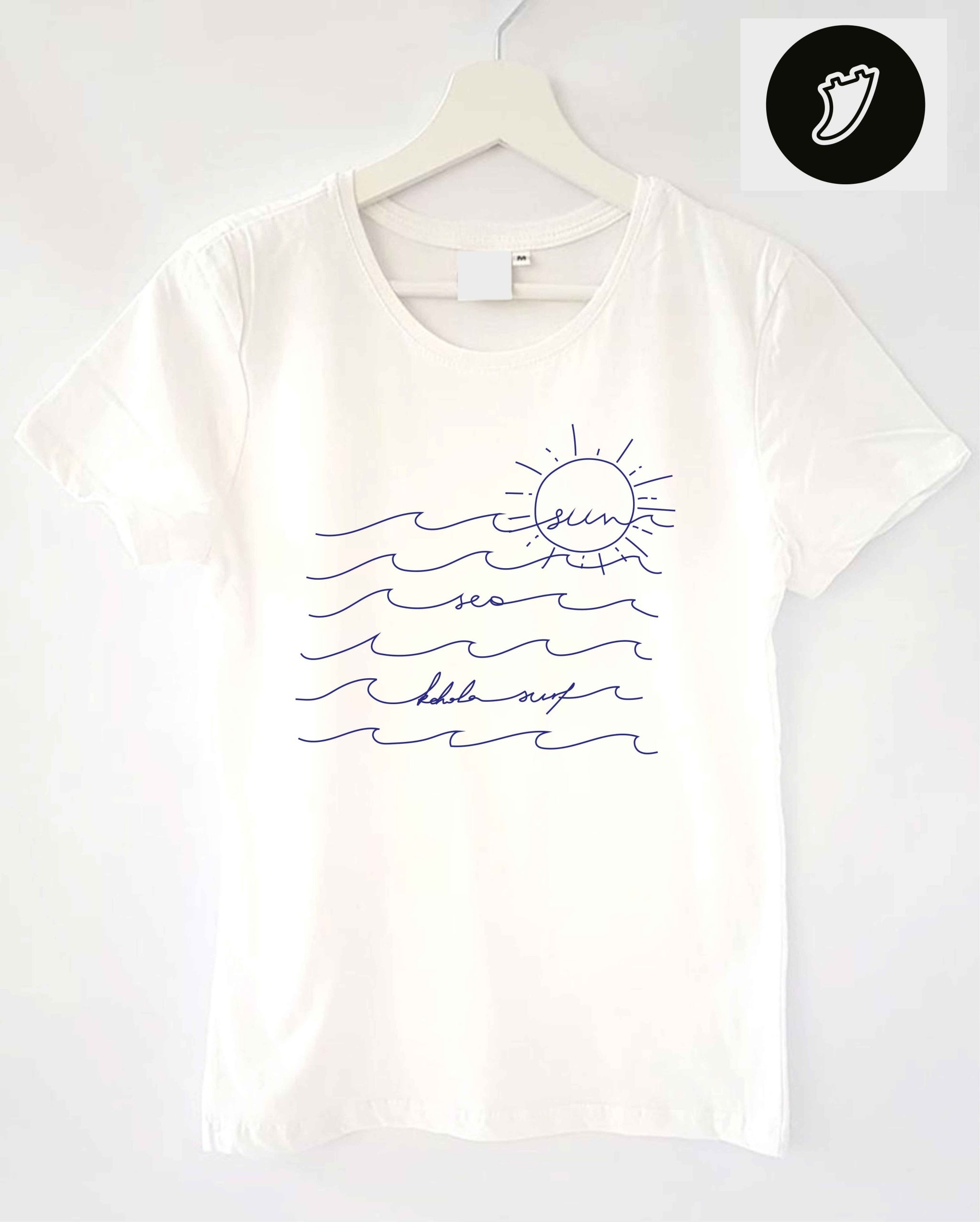 Sea, Sun, Surf Woman Tee