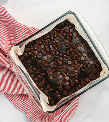 Black Bean Blender Brownies