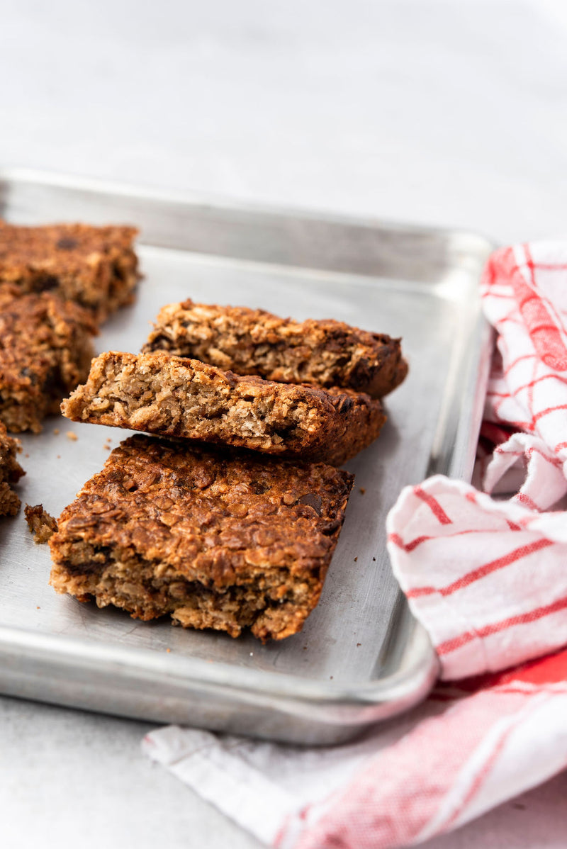 Chocolate Chip Banana Oat Bars