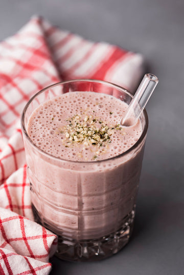 Strawberry Hemp Smoothie