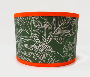 LINEAR JUNGLE LAMPSHADE