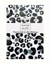 Load image into Gallery viewer, OVERSIZED LEOPARD NOTEBOOK - MONOCHROME