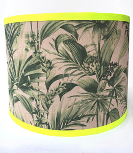 Tropical Snake Lampshade - Green