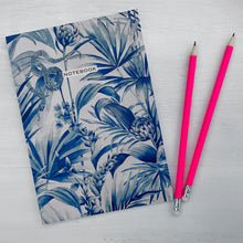 Load image into Gallery viewer, TROPICAL SNAKE NOTEBOOK - NAVY