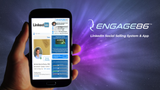 ENGAGE86 LinkedIn AI Social Selling System Management Dashboard
