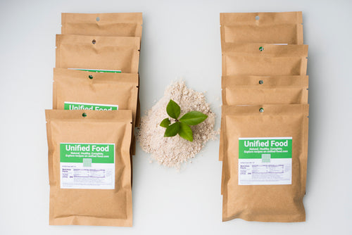 Unified Food (u-food), Pack 8 pouches (1 day course, 2000 Calories)