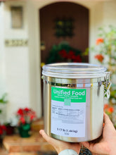 Load image into Gallery viewer, Unified Food, waste free reusable canister, 3.17 lb (6000 Calories)