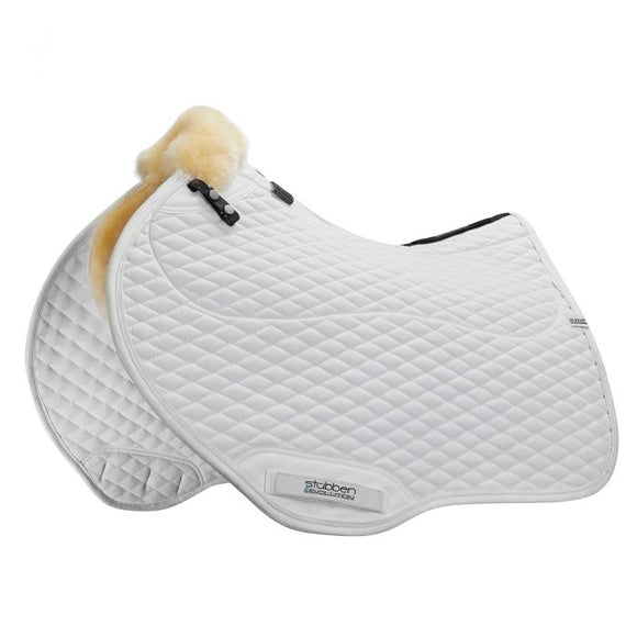 Stubben Streamline Lambswool Close Contact Saddle Pad Jump