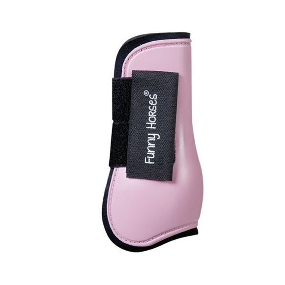 HKM Horses Pink Shetland Protection Boots