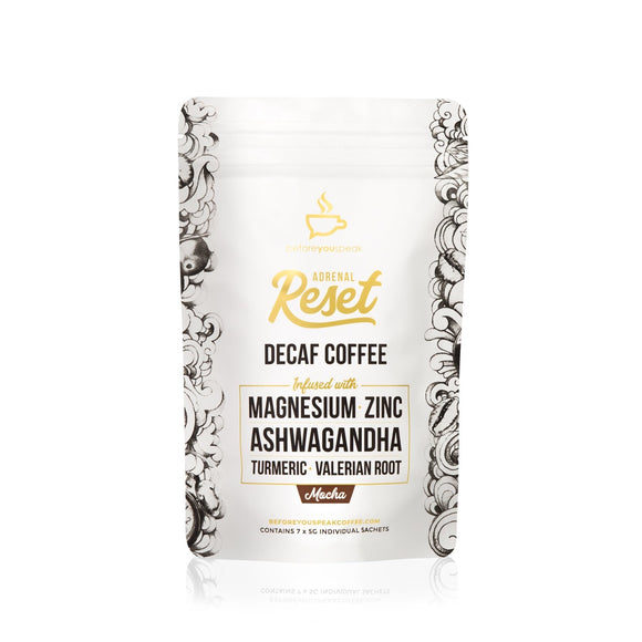 Adrenal Reset Decaf - 7 Serve Trial Pouch - Mocha