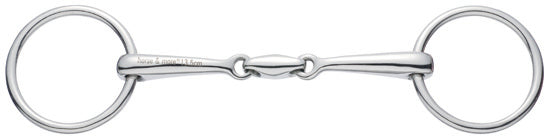 Sprenger Loose Ring Snaffle Double Jointed 16mm 40905