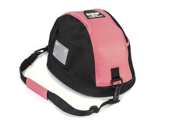 Kep Helmet Bag - Pink Leather