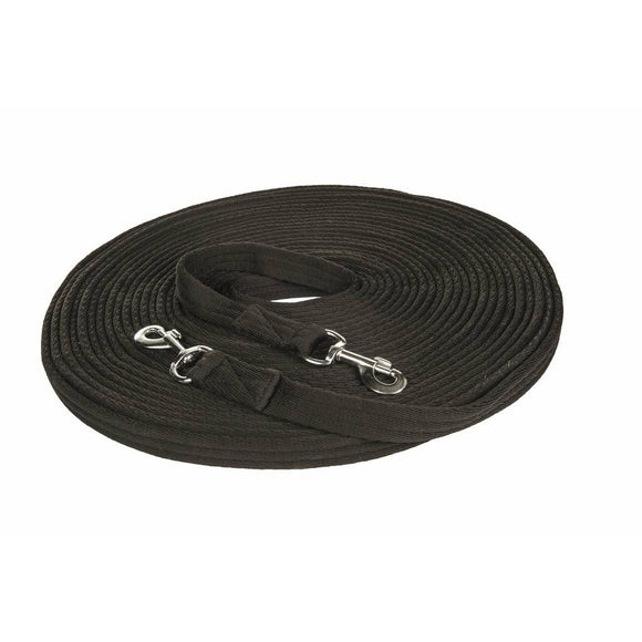 HKM Long Reins 18m Black