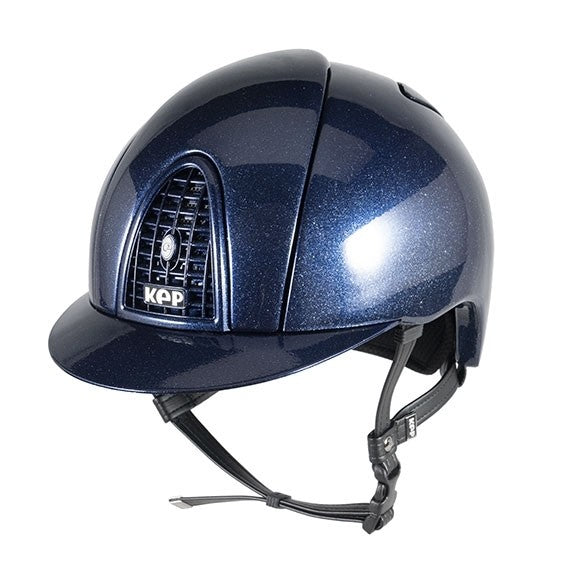 KEP Cromo Metal Flakes Midnight Blue Helmet