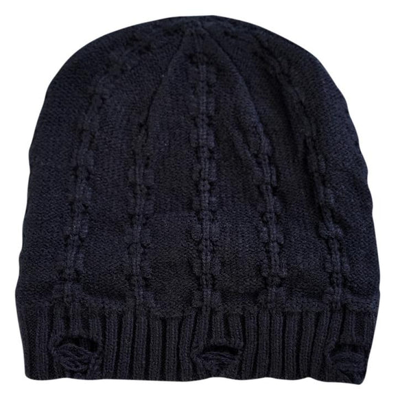 LRC Everest Black Beanie