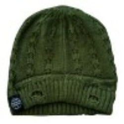 LRC Everest Beanie Olive Green