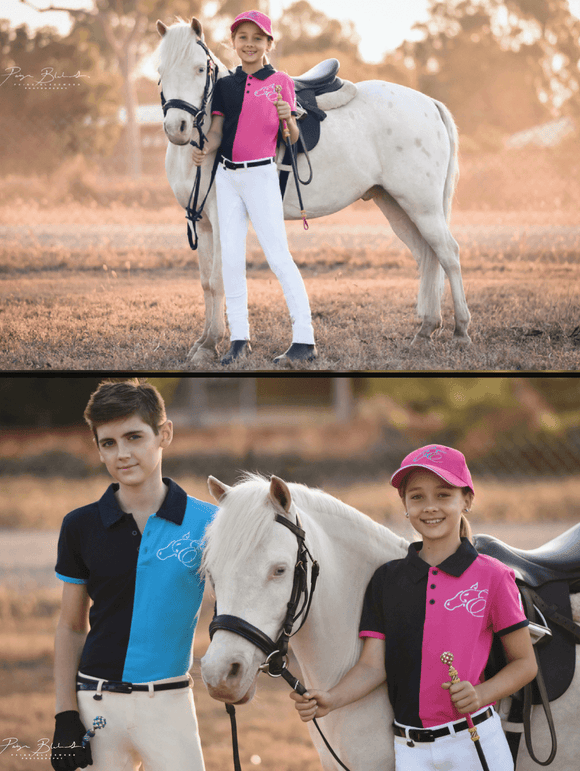 Peter Willams Earlwood 7 Polo Shirt - Children's For Australian Equestrian
