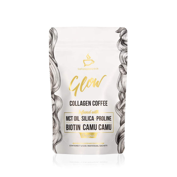 Glow Original - Collagen Coffee 7 Serve Trial Pouch