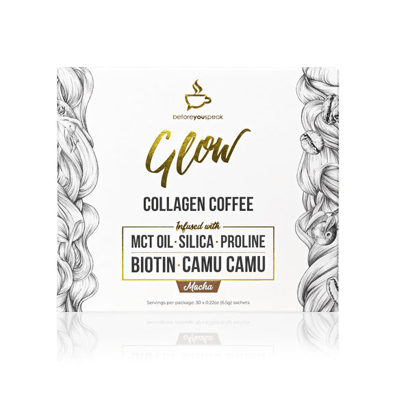 Glow Mocha Collagen Coffee