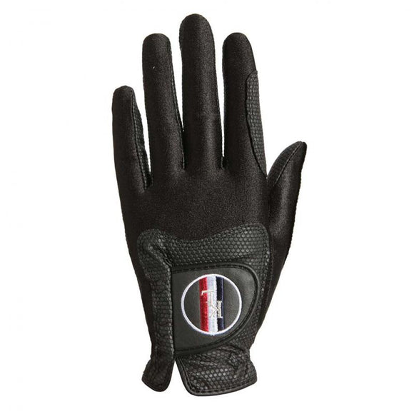 Kingsland Classic Riding Black Gloves KLC-AC-607