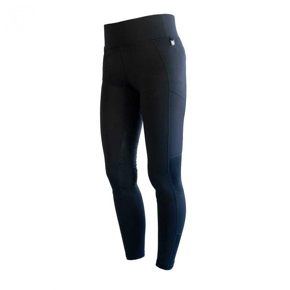 Kingsland Kemmie Girls Full Grip F-Tec2 Navy Tights KLC-BRFG-872
