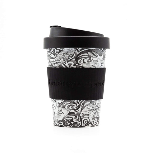 Bamboo Reusable Cup 280ml