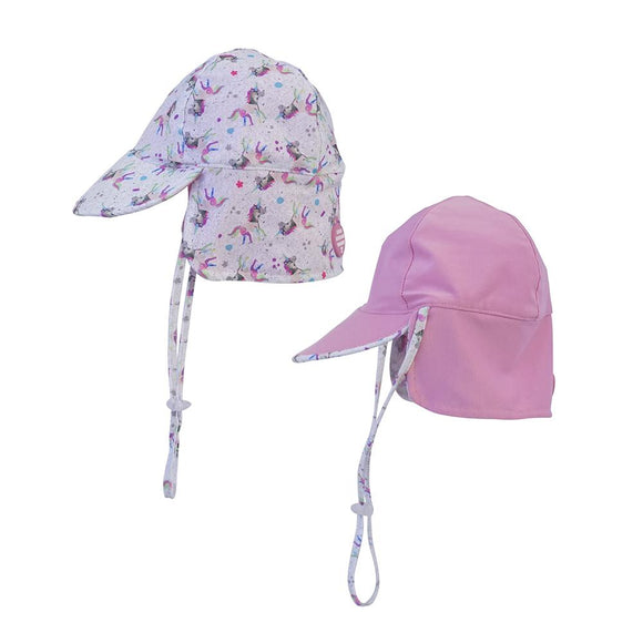 LRC Sparkles Unicorn Reversible Hat