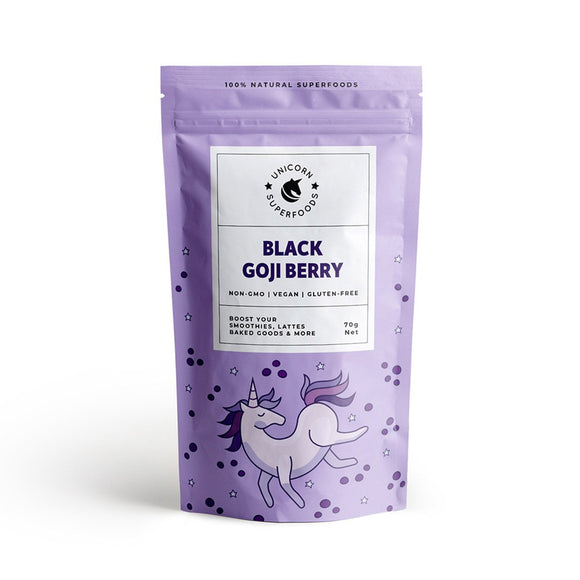 NATURAL BLACK GOJI BERRY POWDER