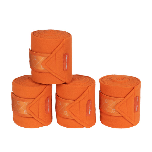 Eskadron Pony Orange Fleece Bandages