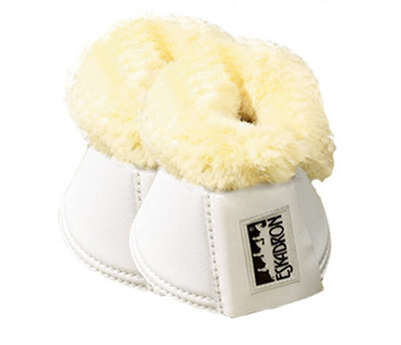 Eskadron Artificial Leather Sheepskin White Bell Boots