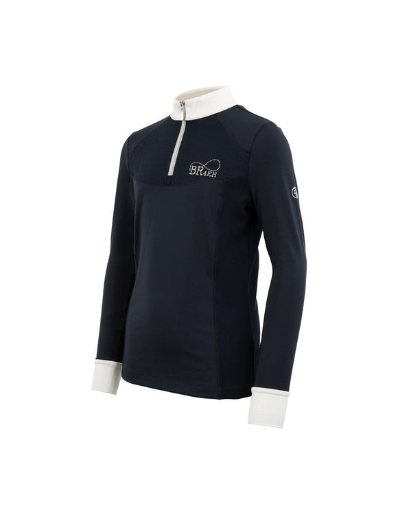 BR 4-EH Precious Childrens Competition Navy Longsleeve Shirt