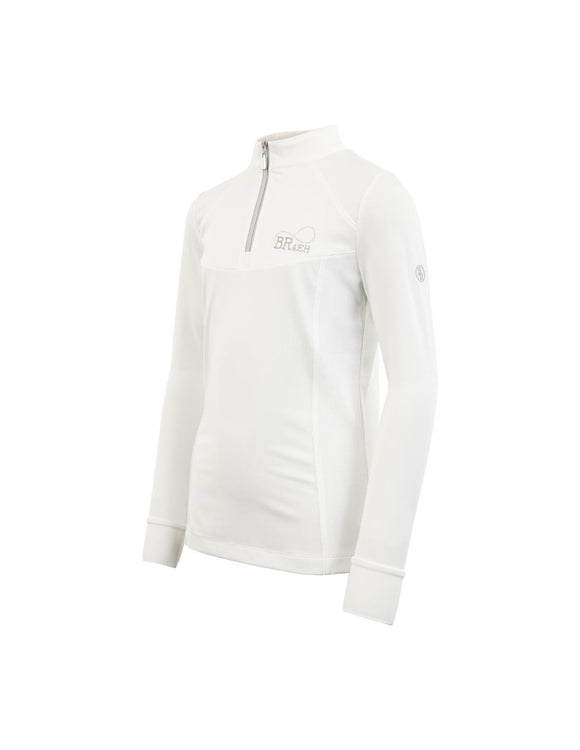 BR 4-EH Precious Childrens Competition White Longsleeve Shirt For Australian Equestrian