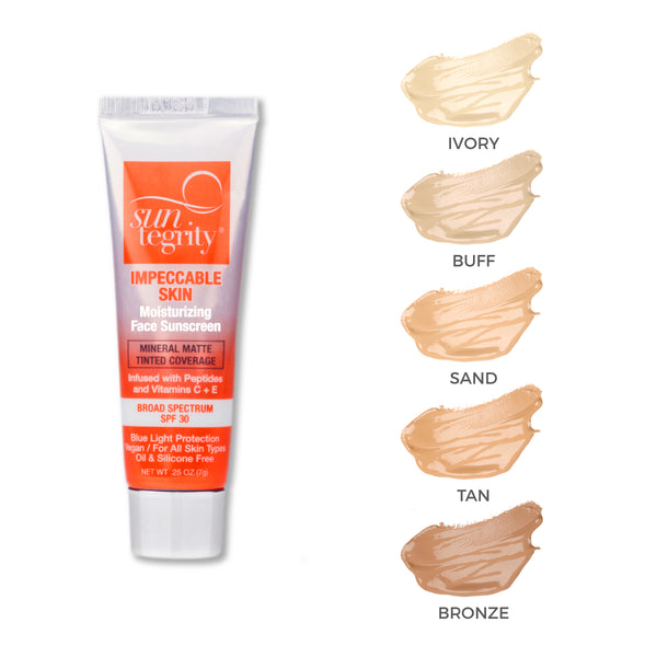 Deluxe Trial Tubes - Suntegrity Impeccable Skin, Broad Spectrum SPF 30