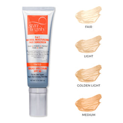 "SUNTEGRITY ""5 IN 1"" NATURAL MOISTURIZING FACE SUNSCREEN - BROAD SPECTRUM SPF 30"