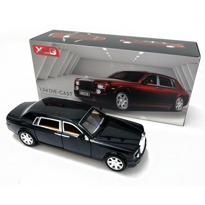 Rolls Royce Phantom Alloy Diecast Car Model - WholeBlue
