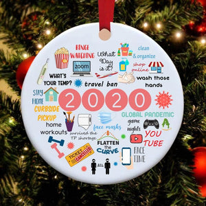 🎄2020 Christmas Ornament, Silver Linings, Limited Edition🎄