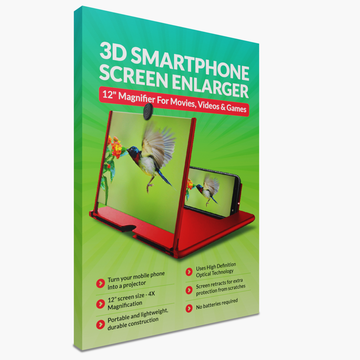Showcase 3D Smartphone Screen Enlarger | As Seen on Instagram